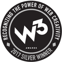 W3 2017 award winner