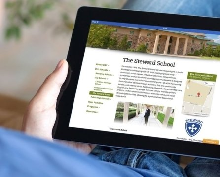 Web Design Stories: Global Study Connections Revamps its Online Home to Reach Students, Parents and Schools