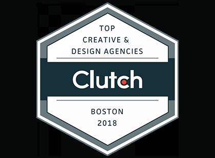 Top Creative & Design Agencies Clutch Boston 2018 Award