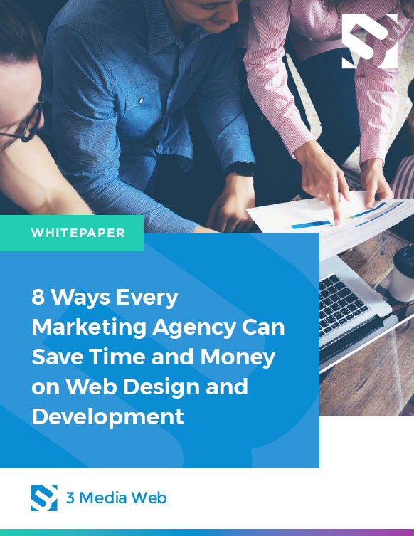 8 Ways Every Agency Can Save Money and Time on Web Design and Development cover