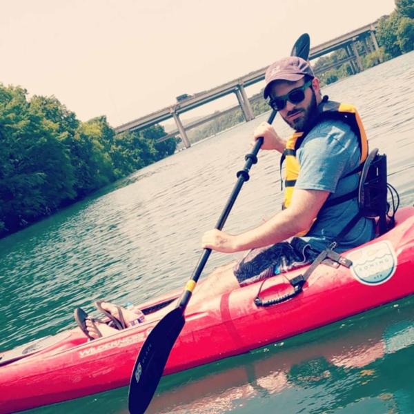 anthony urato kayaking