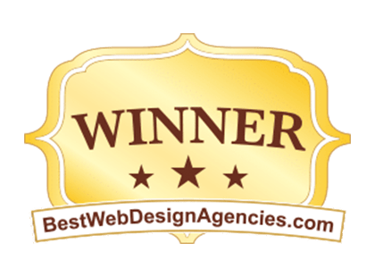 BestWebDesignAgencies.com Winner Award