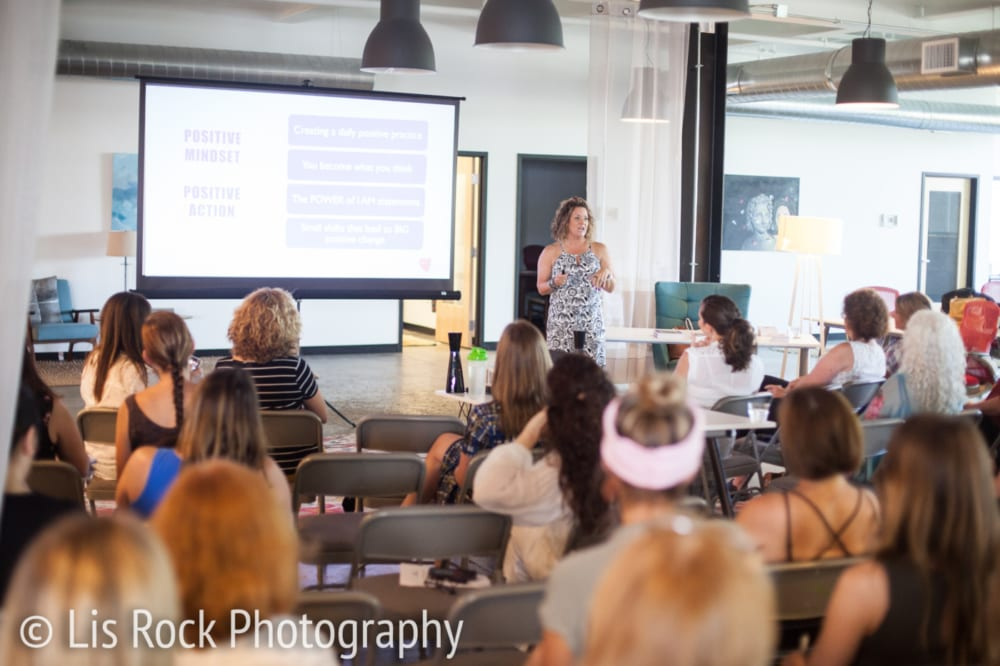 Erin Mahoney Presents at Out of Office Coworking