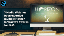 3 Media Web takes home 11 Horizon Interactive Awards! Boston's Little Web Agency that could!
