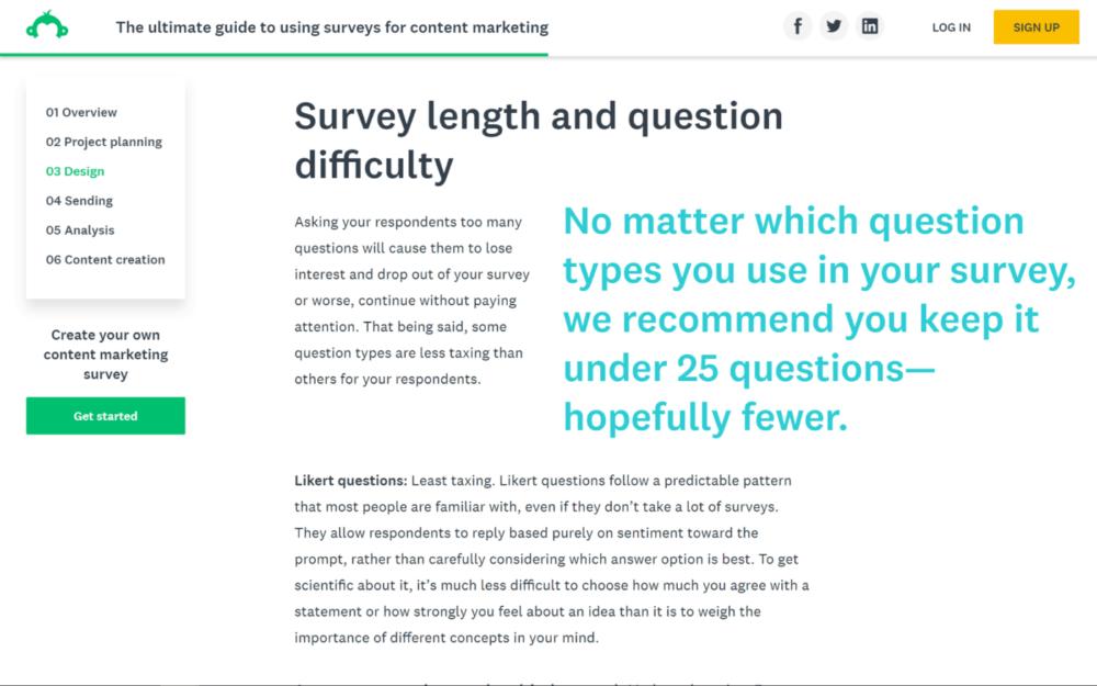 b2b surveys