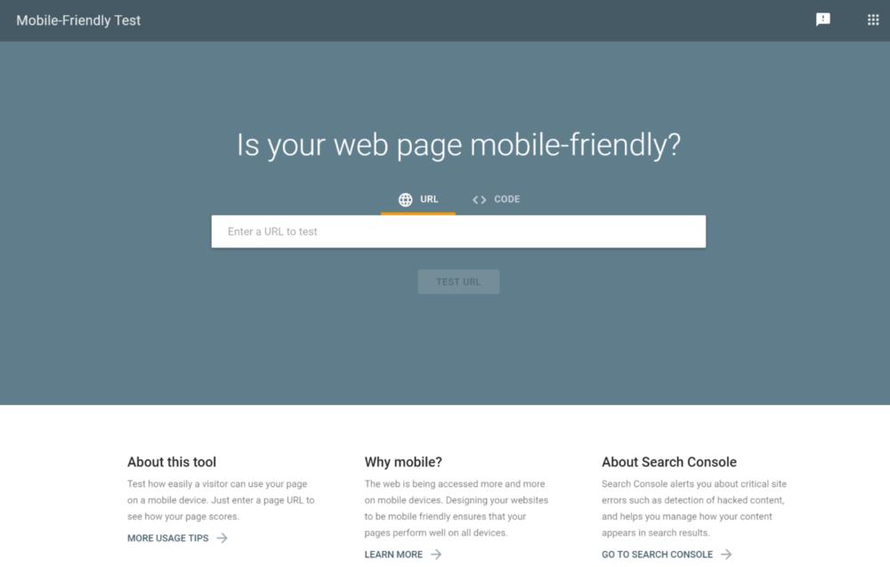 responsive web test
