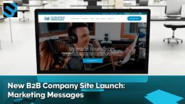B2B Website Design for Marketing Messages, Waltham MA