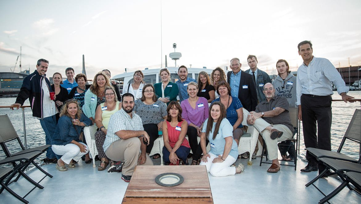 3 Media Web Thanks Clients With Boston Harbor Boat Party