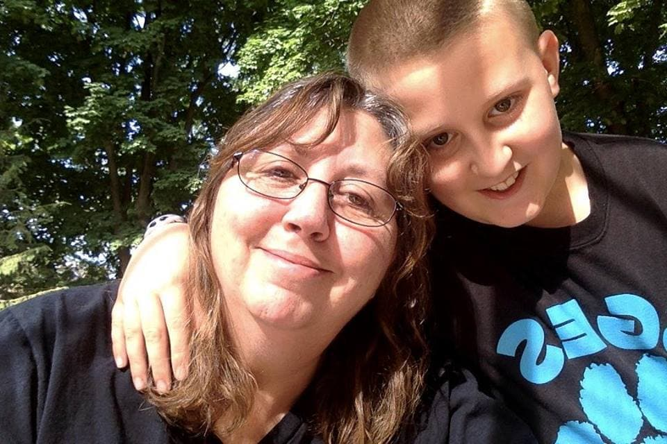 Rachel Rodgers, Client Services Manager and her son Nick