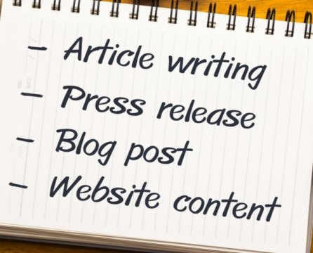 5 Website Content Writing Tips