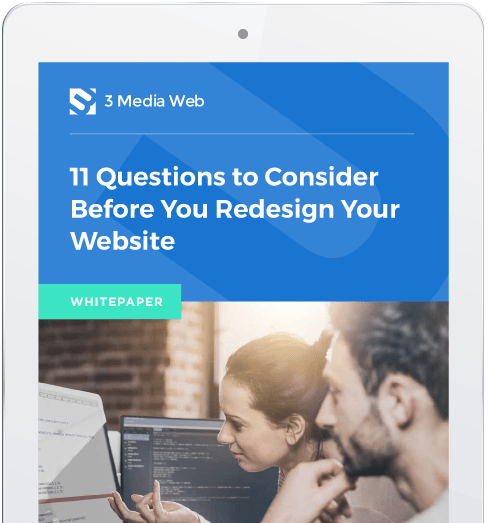 Questions to consider before you redesign your website