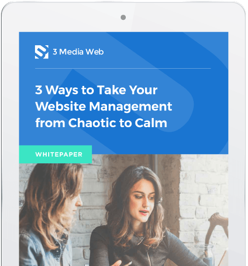 Whitepaper - 3 Ways to Take Your Website Management from Chaotic to Calm